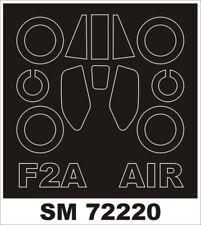 Montex Mini Mask 1:72 EE Lighting F.2A for Airfix Kit Spraying Stencil #SM72220