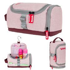 Kulturtasche Mädchen Damen Schminktasche Bench aufhängbar Beautycase Rosa +b