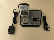 AT&T Answering Machine Cordless Phone KX-TGA101S. Battery Inc