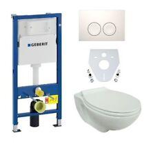 Wand-wc Spülrandlos - Wc-sitz SoftClose mit Geberit Vorwandelement