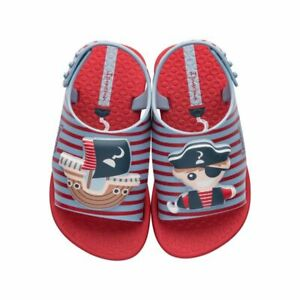 Ipanema Baby Dreams Pirate Sandals Infant Beach Shoes 26174 Red UK Size 5 K