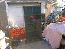 Industrial Globe Wernicke 4metal stacking bookcase Horizontal Sliding Doors Rare