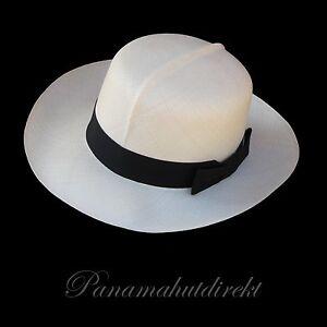 "Genuine Panama Hat from Montecristi ""Óptimo"" fino,  Men Woman Straw Fedora Sun"