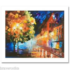 """LEONID AFREMOV """"URBAN GIANT"""" EXTREMELY LIMITED EDITION 7/25 HAND/EMB GICLEE. NEW"""