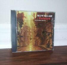 Slum Village: Tainted PROMO w/ Artwork MUSIC AUDIO CD Radio Instrumental Dwele