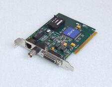 ZNYX ZX312 COMBO BNC RJ-45 D-SUB VINTAGE PCI NETZWERKKARTE S26361-D857 #E22