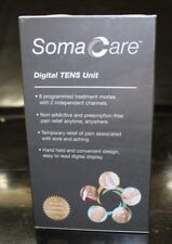 New Soma Care Digital TENS Unit 8 Modes ~ 2 Channels 1654716