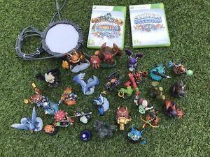 Skylanders Bundle XBox 360 Portal 27 Skylanders Giants Spyros Adventure Game