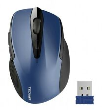 Bluetooth Wireless Mouse USB Ergonomic Optical 3000 DPI Silent Mouse 2.4GHz