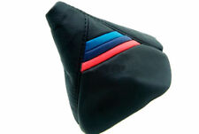 BMW E46 Automatic Shift Boot Synthetic Leather M Style Stripe for 99-04