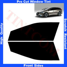Pre Cut Window Tint Honda Civic 5 Doors Estate 2013-... Front Sides Any Shade