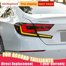 For Honda Accord LED Taillights Assembly Dark LED Rear Lamps 2018-2020