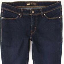 Womens Levis 20196 REVEL SLIGHT SKINNY Stretch Blue Jeans W29 L32 UK Size 10