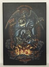 Nightmare Before Christmas Jack Skellington & The Bone Daddy 5 Canvas Art Print