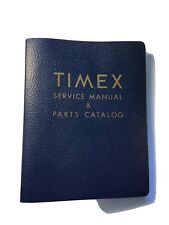 Vintage Timex Service Manual & Parts Catalog