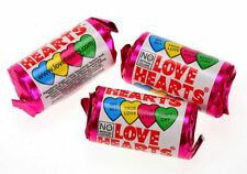 10 x MINI LOVE HEARTS BIRTHDAY PARTY BAG FILLER WEDDING SWEETS