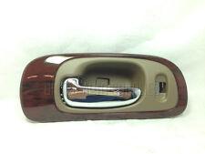 Chrome/Beige Woodgrain Bezel Front Left LH Driver Side Inside Door Handle