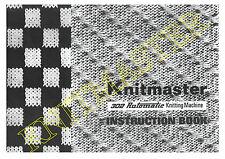 Instruction Manual 302 Automatic Knitting Machine