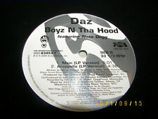 "Daz Boyz N Tha Hood Feat Nate Dogg 12"" Single NM 2004 SSD-63453-1"