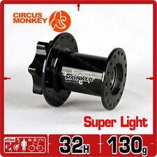 Circus Monkey HDW Lefty 32 H 6 Bolt  Front Disc Hub Cannondale 130g CNC Black