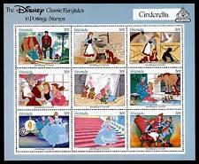 Grenada 1542 imperf selvedge MNH Disney, Cinderella, Horse, Dogs