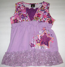 New Hanna Montana Size 4T Purple Tunic Top