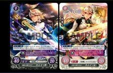 New Fire Emblem if Limited Kamui Corrin promo card x 2P man woman Japan 3ds Rare