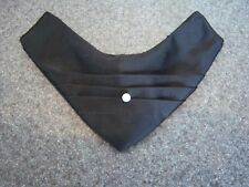 VINTAGE 60'S BLACK CONTINENTAL FORMAL TIE - mens clip on style