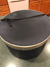"""New listing Vintage Hat Box from 40's Or 50's. 8 1/2 X 13 1/2 """" In Size"""