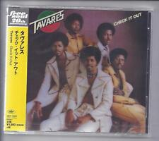 TAVARES Check It Out/Japan CD Jewelcase CD FREE SOUL Series UICY - 15307 New