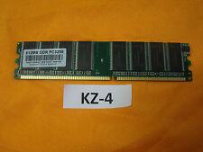 512MB  DDR1 RAM PC3200U Arbeitsspeicher #KZ-4