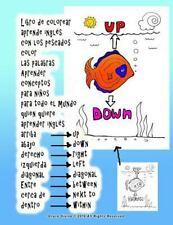 Libro de Colorear Aprende Inglés con Los Pescados Color Las Palabras Aprender...
