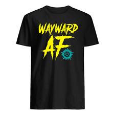 Wayward a f shirt, Black Shirt , 100% cotton , Size : S - 4 XL.