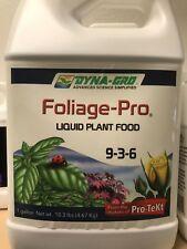 Dyna Gro Foliage Pro - liquid plant food nutrient bloom grow dyna-gro oz gal