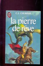 C.J. CHERRYH - La pierre de rêve, J'ai Lu SF 1738, 1984 couverture Boris Valejo