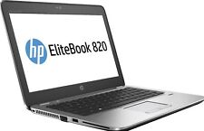 "HP Elitebook 820 G3 i5 6300U 2.50GHz 500GB 12.5"" Screen Windows 10 Ultrabook"