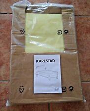 NEW IKEA KARLSTAD Free Standing Chaise Lounge Cover Slipcover - Sivik Yellow