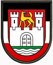 Wappen von Wolfsburg, Aufnäher ,Pin, Aufbügler