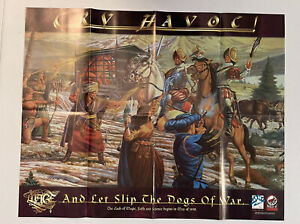 Mage: The Sorceror's Crusade Store Promo Cry Havoc  Poster Poster 22x28 RPG