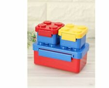 [ OXFORD ]1ea+ Mini 2ea Block Lunch Box for Kids  Food Storage Brick Lego Basic