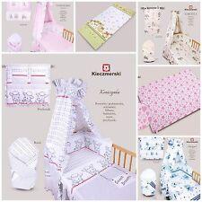 2, 3 & 5 Pieces Baby Bedding Set Cot 120x90cm Cot Bed 135x100cm Girl Boy Unisex