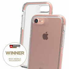 Gear4 for iPhone 7/8 Clear Case Piccadilly Impact Protection D3O - Rose Gold