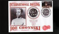 JOE CHOYNSKI INTER BOXING HALL OF FAME INDUCTEE COVER