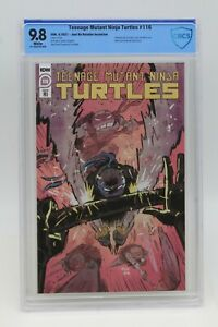 Teenage Mutant Ninja Turtles (2011) #116 Juni Ba 1 In 10 CBCS 9.8 Blue Lbl WH PG