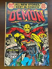 Demon #1 DC Comic 1st appearance of Etrigan Key Issue 1972