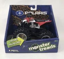 Polaris Monster Treads Atv by Ertl/2009/ Bouncy Tires/new /free Shipping