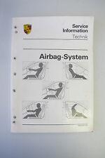 Porsche 911 Carrera, 911 Turbo Air Bag System Service Information Technic 1990