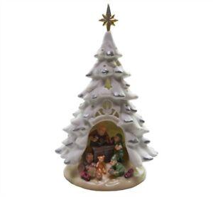 Appletree Design - Porcelain Lighted Tree - Santa's Workshop