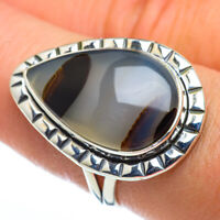Montana Agate 925 Sterling Silver Ring Size 8 Ana Co Jewelry R44530F