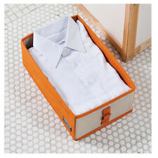 Folding Shirt Clothes Underware Organizer Storage Box Case Container Non Woven